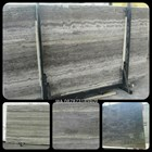 Marmer Travertine Grey Slab (TV 17) Travertine Import 1