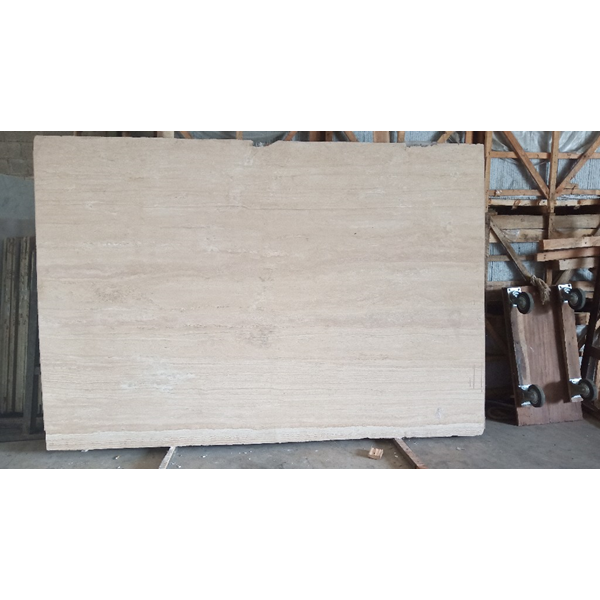 Marmer Travertine Beige Slab (TV 97) Travertine Import