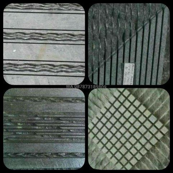 Batu Andesit Polos Alur Andesit Polos Alur Batu Alam Lokal