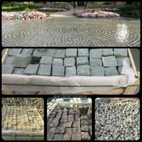 Jual Batu Andesit Kobel Andesit Cobble Stone Paving Block Batu Alam Lokal