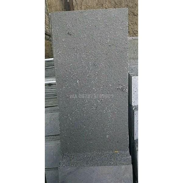 Batu Alam Batu Andesit Polos Bakar Batu Andesit Polos Flame Batu Alam Lokal