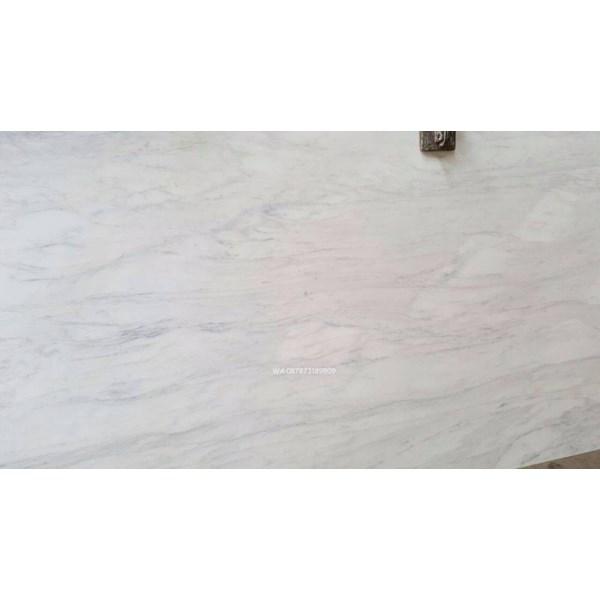 Marmer Statuario Venatino Marmer Putih Marmer White Italy-Slab