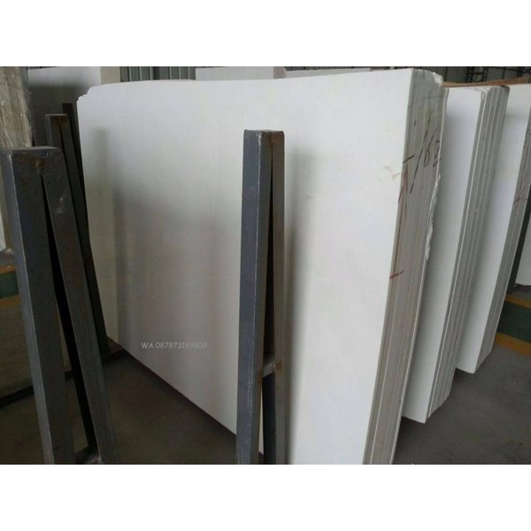 Marmer Ariston Marmer Putih Import Italy Slab