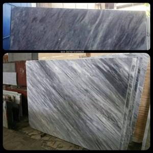 Marmer Bardiglio Grey Marmer Grey Marmer Abu Import Italy-Slab