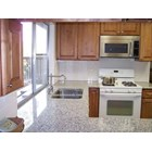 Meja Granit Putih Bintik Hitam Meja Granit Bianco Sardo (MG 261) Granit Kitchen Countertop 4