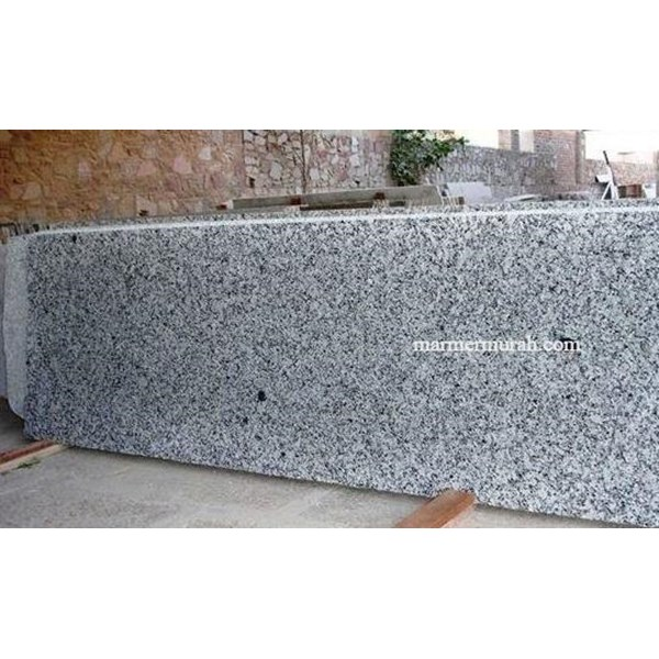 Table White Granite black spots Table Granite Bianco Sardo (261 MG) table Granite Imports