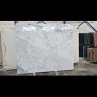 Marmer Statuario Venato Marmer Putih Import Italy Slab 3