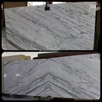 Marmer Statuario Venato Marmer Putih Import Italy Slab