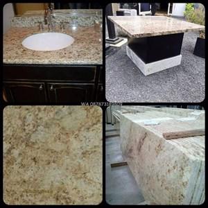 Meja Granit Kuning Meja Granit Kuning India Meja Granit Import