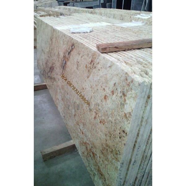 Meja Granit Kuning Meja Granit Kuning India Meja Granit Import Granit Kitchen Countertop