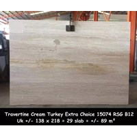 Distributor Travertine Slab Cuci Gudang Travertine Turky 3
