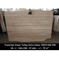 Travertine Slab Cuci Gudang Travertine Turky Murah 5