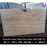Jual Travertine Slab Cuci Gudang Travertine Turky 2
