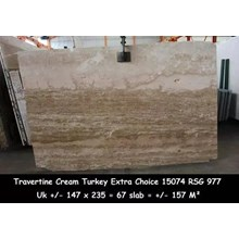 Travertine Slab Cuci Gudang Marmer Travertine Turk