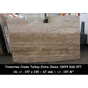 Travertine Slab Cuci Gudang Travertine Turky