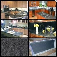 Meja Granit Abu Meja Dapur Kitchen Wastafel Bar Pantry Counter Granit Kitchen Countertop