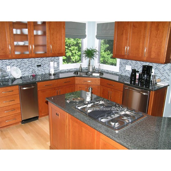 Meja Granit Abu Meja Dapur Kitchen Wastafel Bar Pantry Counter Granit Kitchen Countertop