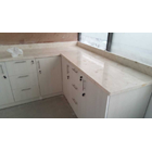Meja Marmer Cream Ujung Pandang Meja Marmer Makasar Dapur Kitchen Wastafel Bar Pantry Counter 3