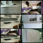 Meja Marmer Cream Ujung Pandang Meja Marmer Makasar Dapur Kitchen Wastafel Bar Pantry Counter 7
