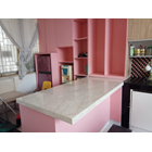 Meja Marmer Cream Ujung Pandang Meja Marmer Makasar Dapur Kitchen Wastafel Bar Pantry Counter 2