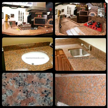 Meja Granit Orange Meja Granit Agypt Red Meja Dapur Meja Kitchen Meja Wastafel Meja Bar Meja Pantry Meja Counter Meja Rias Meja Roti
