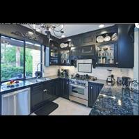 Jual Meja Granit Biru Mata Kucing Meja Dapur Kitchen Wastafel Bar Pantry Counter 2