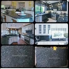 Meja Granit Biru Mata Kucing Meja Dapur Kitchen Wa