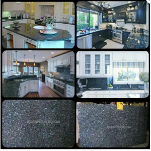 Meja Granit Biru Mata Kucing Meja Dapur Kitchen Wastafel Bar Pantry Counter