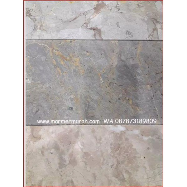 Marmer Bandung Abu MIX 15x15-20x20 Cm Marmer Grey Bandung-Cuci Gudang