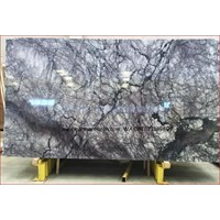 Jual Marmer Violetta Marmer Biru Putih Marmer Import Turky-Slab