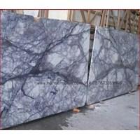 Beli Marmer Violetta Marmer Biru Putih Marmer Import Turky-Slab 4