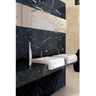 Black Marble Floor Table White Kitchen Table Kitchen Wash Basin Pantry Counter Bar 5