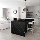 Black Marble Floor Table White Kitchen Table Kitchen Wash Basin Pantry Counter Bar 3