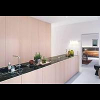 Beli Meja Marmer Hitam Alur Putih Marmer Putih Import Meja Dapur Kitchen Set 4