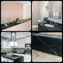 Black Marble Floor Table White Kitchen Table Kitch