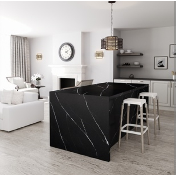 Black Marble Floor Table White Kitchen Table Kitchen Wash Basin Pantry Counter Bar