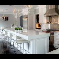 Distributor Meja Marmer Putih Import Meja Dapur Meja Kitchen  3