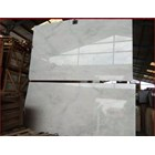 Marmer Aurora White Marmer Putih Import-Slab 1