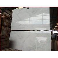 Jual Marmer Aurora White Marmer Putih Import-Slab