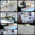 White Marble Table Import Ex Italy Kitchen Table Kitchen Table Wash Basin Desk Bar Table Pantry Counter Table Dll 1