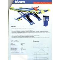 Scissor Lift Four Wheel Alignment 1
