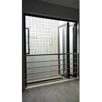 Distributor Pintu Aluminium  Folding GIANO 3
