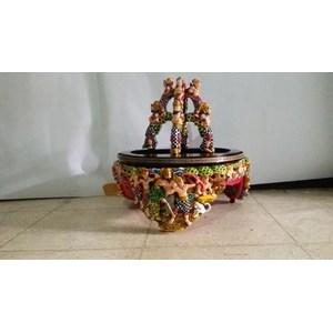 Tebok Ukir Motif Ramayana