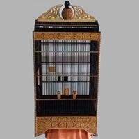 Dayak Borneo Motifs Cukit Cage