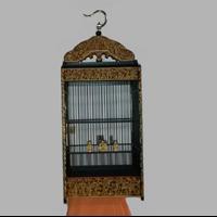 Sangkar Burung Ukir Motif 100 Dewa