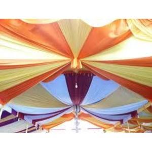 plafon tenda dekor