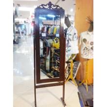 Cermin Kayu Dan Bambu