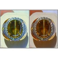 Jual Cincin Batu Permat arrow Alexandrite arrow RAX 018 + Sertifikat