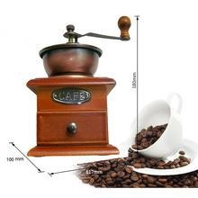 Mini Coffe Grinder Kayu Manual Penggiling Kopi