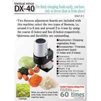 Jual Mesin Pengolah Sayur Dan Buah-Buahan Dremax DX-40 Vertical Mince Jakarta 2